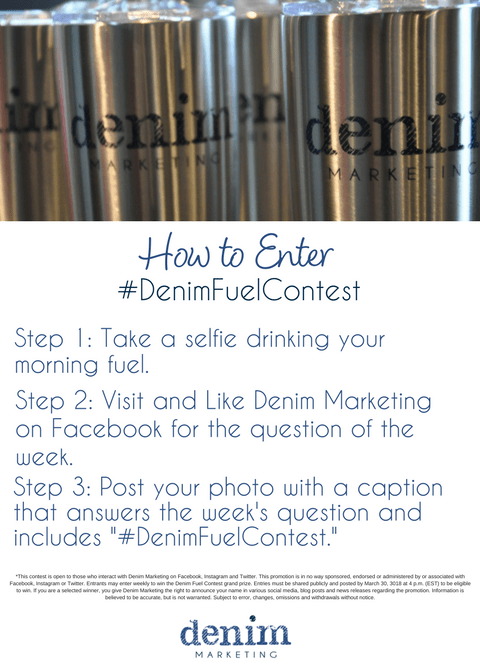 Denim Fuel Contest: Embrace Your Morning Fuel Habit