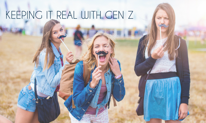 Keeping it Real with gen z