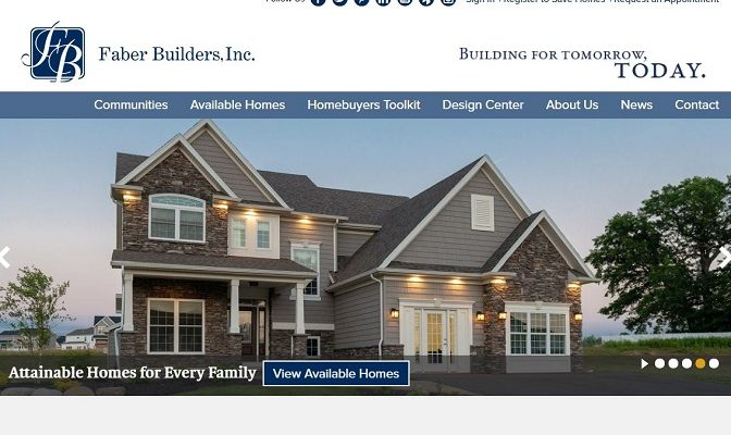 Faber Builders Website