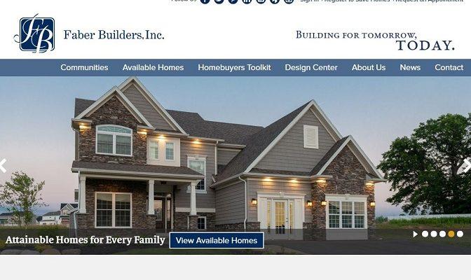 Faber Builders Website