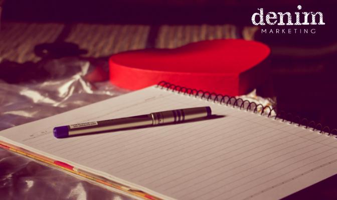 Love to Write at Denim