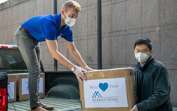 atlanta homebuilder practicing corporate social responsibility