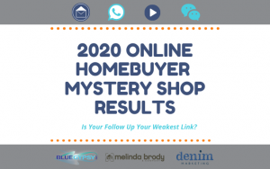 2020 Online Homebuyer Mystery Shop Report