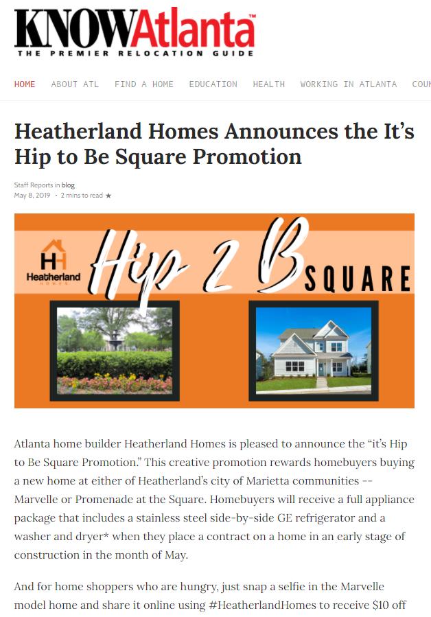 Hip 2 B Square campaign
