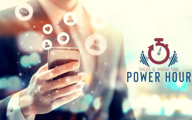 Sales & Marketing Power hour graphic