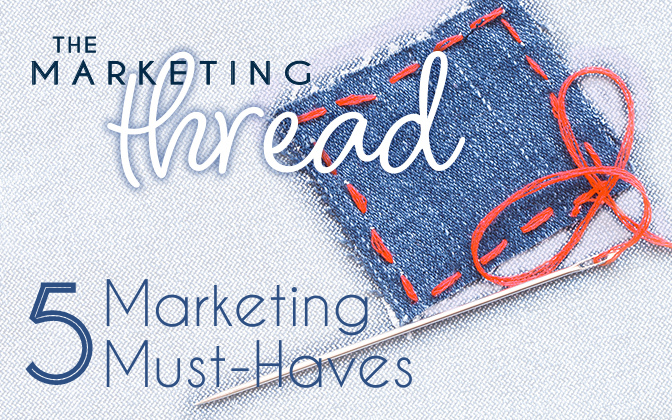 The Marketing Thread graphic