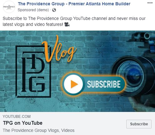 The Providence Group Vlog Ad