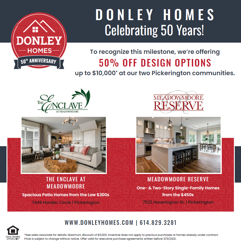 Donley Homes Anniversary Ad