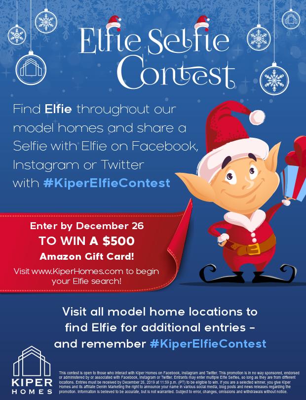 Kiper Elfie Selfie Flyer