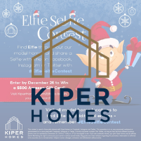 Kiper Elfie Selfie Holiday Social Media Campaign