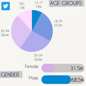 Twitter social media statistics