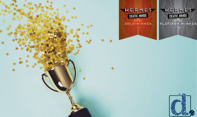 Denim Marketing Wins Five Accolades in 15th Annual Hermes Creative Awards