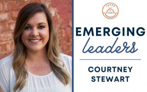 Courtney Stewart chosen for Emerging Leaders