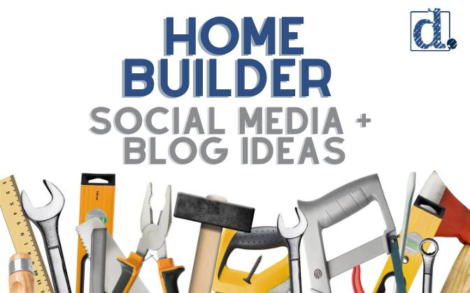 Social media and blog ideas